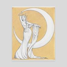 Selene - Canvas by Jessica