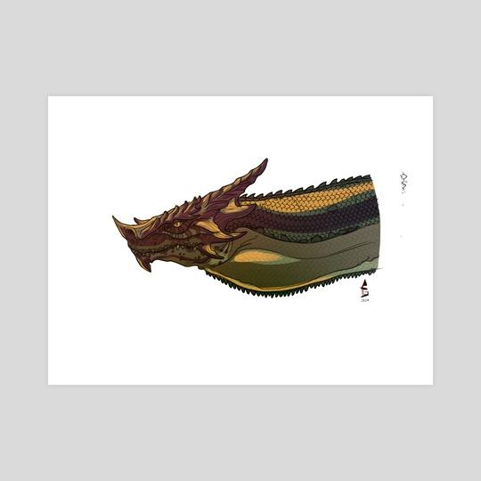 Dragon Head by Arturo Galindo