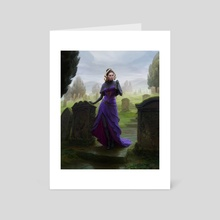 MtG - Liliana, Waker of the Dead - Art Card by Anna Steinbauer