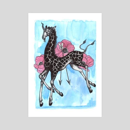 The Giraffacorn by Littlest Finch