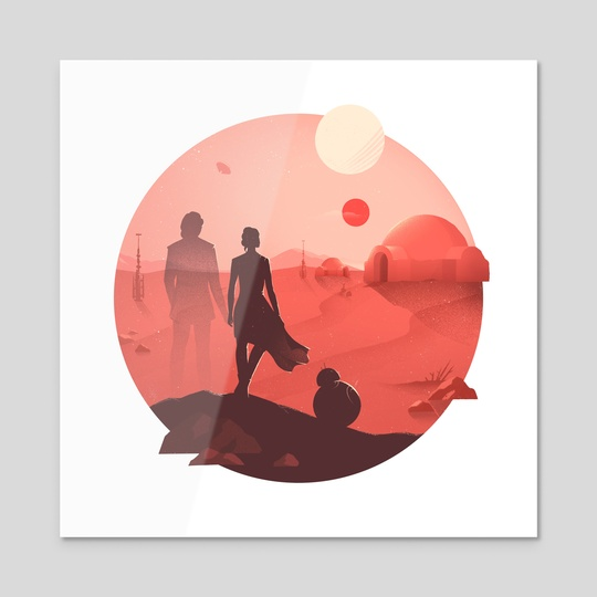 Tatooine Sunset by Anna Kuptsova