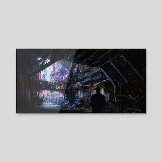 Cyber Alley by Dario Marzadori