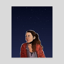 reyes - Canvas by Diana Benitez