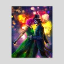 Dark Mambo - Canvas by Jennifer Lange