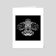 Reptilithing - Art Card by warpixel