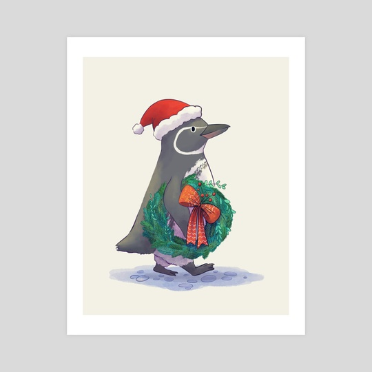 Galapagos Penguin by Kellie Nicely