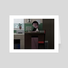Cabinet - Art Card by Sergey Kolesov