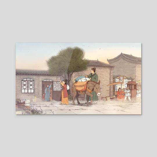 The Silk Road by Joe Lillington