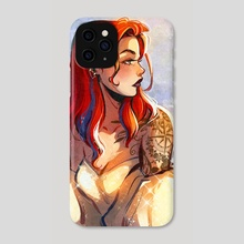 The princess - Phone Case by Gretel Lusky