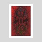 Abba - Art Print by Lidia Liligeometry