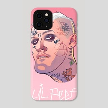 Lil Peep 02 - Phone Case by Vadim Zhulanov