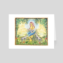 Barbara, The Provider - Art Card by Matthew Panuska