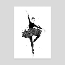 Floral dance - Canvas by Balazs Solti