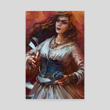 The Fate Weaver - Canvas by Harkalé Linaï