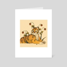 Strawberry Tiger - Art Card by Torubie