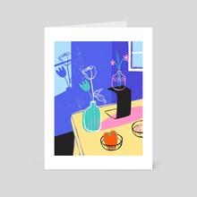 Indigo-ish - Art Card by Elyssa Padillo