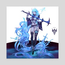 Syrene - Saren Phantom Full Design - Canvas by Zeronis
