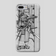 Cyborg 02 - Phone Case by Vadim Zhulanov