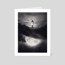Guiding Light - Art Card by Enkel Dika