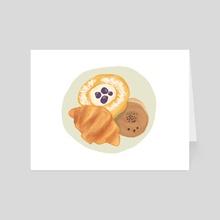 Pastry  - Art Card by Jazzmin Smith