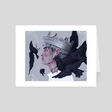 Raven - Art Card by Sara Hjardar
