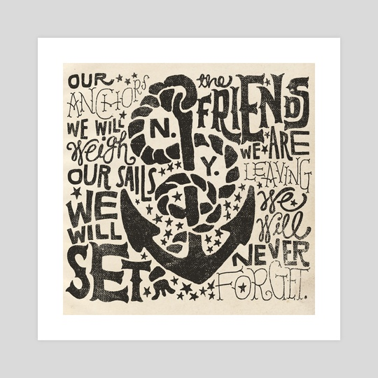 Anchors Aweigh by Jon Contino