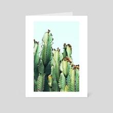 Cactus Love - Art Card by 83 Oranges