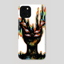 Phases II - Phone Case by Sin Ribbon