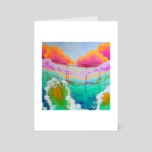 Collapsed Color Catastrophe - Art Card by Nadia Diaz