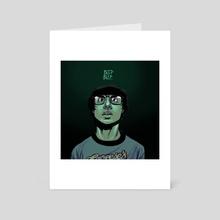 Beep Beep.  - Art Card by Bnie H.
