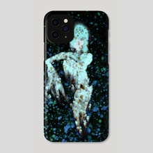 STP Screen Transfer Process - 0089 - Ghost Jazz - Phone Case by Wetdryvac WDV