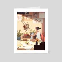 Summer - Art Card by Diobelle Cerna