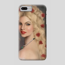 Red roses - Phone Case by S. Foksynes