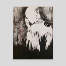 I'm Tired - Canvas by Celeste Cardenas