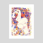 mimos - Art Print by Annelisa Hermosilla