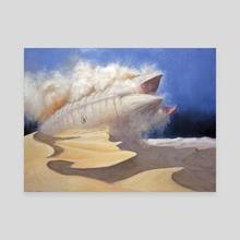 Raising Shai Hulud - Canvas by Armand Cabrera