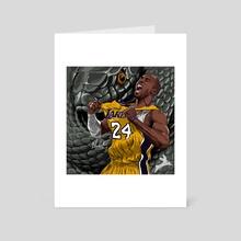 """MAMBA""  - Art Card by BlackRabbit Skinny"