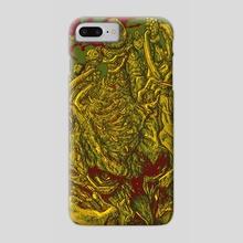 The Doom Slayer Pickle-Rick's The Spider Mastermind! - Phone Case by Luis Sierra