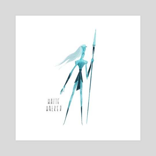 GOT - White Walker by Nikolas Ilic