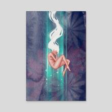 Evolving - Acrylic by Alicia Alcañiz