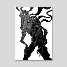 Coral Corpse - Acrylic by miasmatik