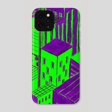 Invasion - Phone Case by Jean-Philippe N'Guessan