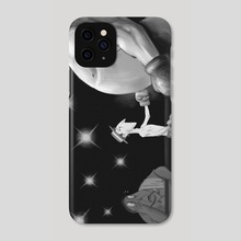 Buster Keaton - Phone Case by Harrison Pyle
