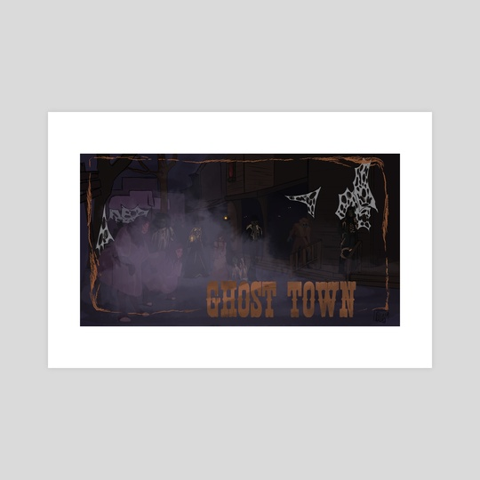 Ghost Town Streets by Delaney Greaves