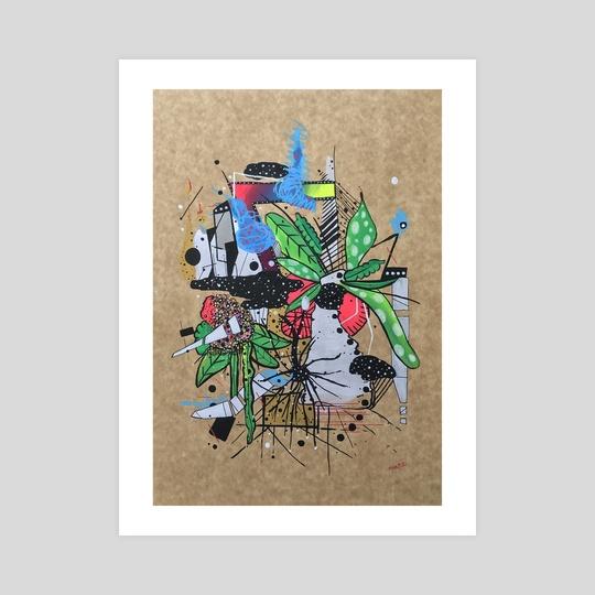 Plant series N2 by Pablo Martinez