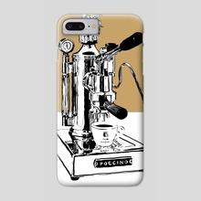 Arte di Poccino Espresso Machine - Phone Case by Aiden James