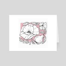 Poppy - Art Card by Artificial Dark