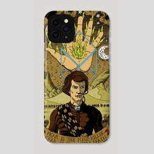 The Sleeper Awakens - Phone Case by matthew sergison-main