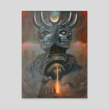 The Infernal Gate - Acrylic by Brad Miller