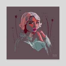 persephone - Canvas by melina ghadimi